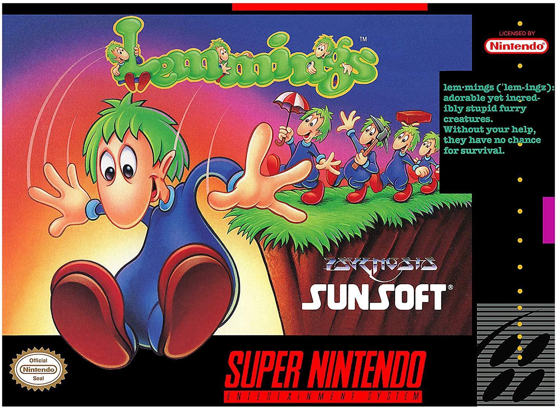 04:《疯狂小旅鼠》,在我国当年一些PC游戏合集里偶尔会发现该作