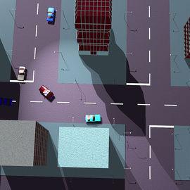 07:GTA最初孕育在酝酿阶段的建模效果图