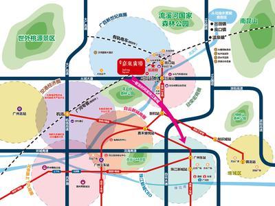 广州嘉东广场交通图图片