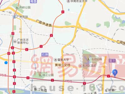 广州汇金东翼交通图图片