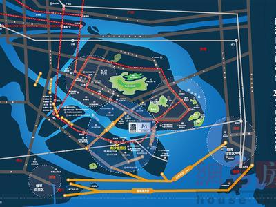 广州南沙珠江湾交通图图片