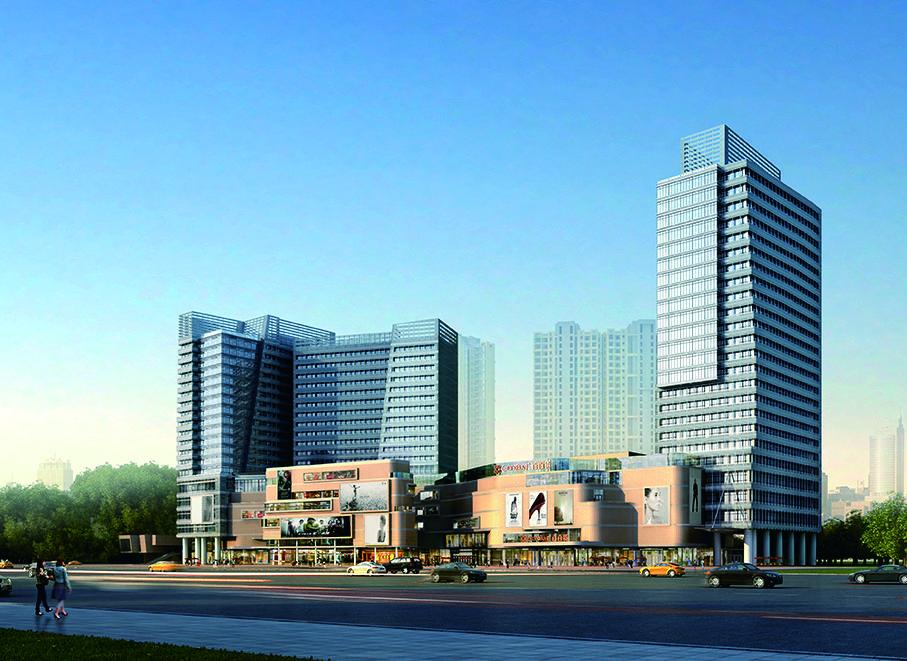 广州碧桂园金沙国际广场效果图图片