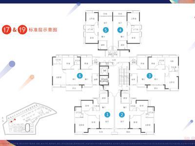 广州品秀·星图平面图图片