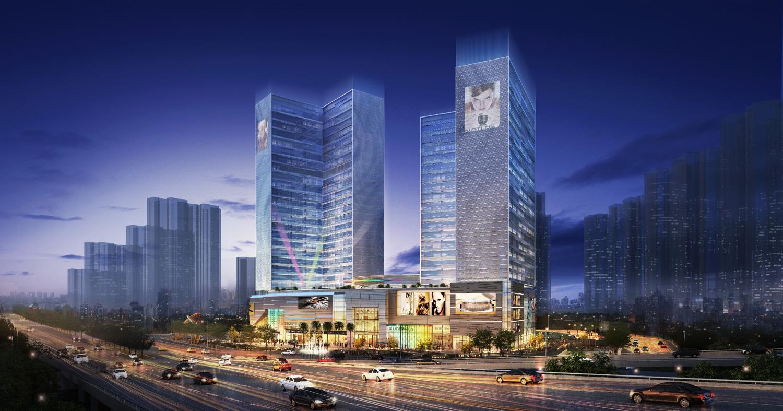 广州佳兆业·未来城效果图图片