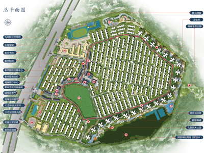 广州泰禾广州院子平面图图片