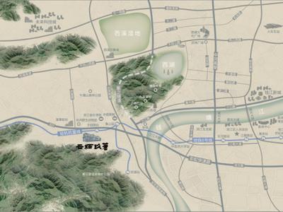 杭州和昌云栖玖著交通图图片