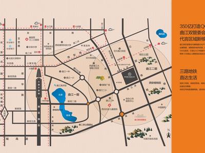 西安阳光城·丽兹公馆交通图图片