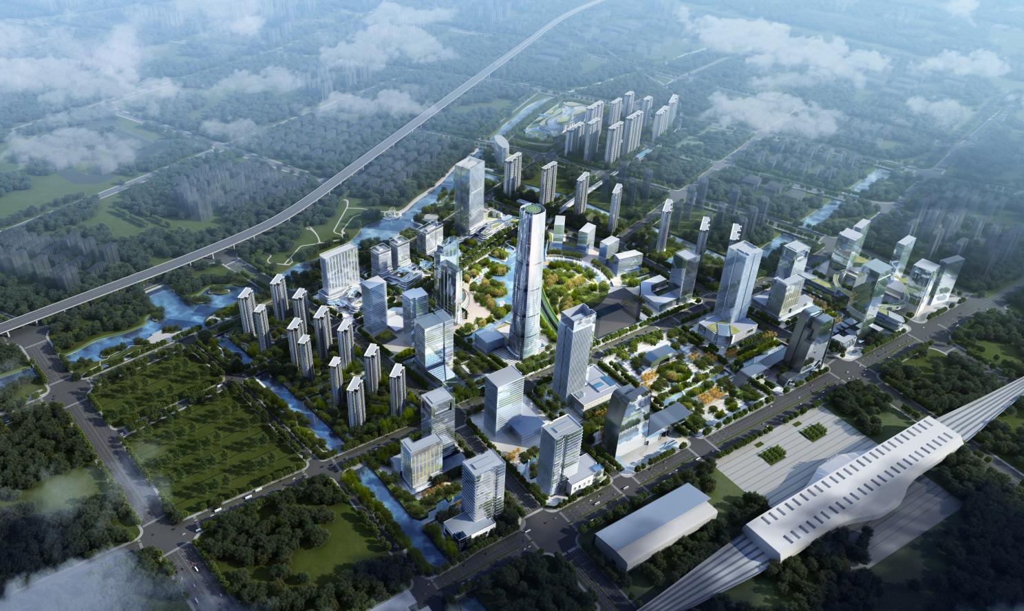 苏州MOC芯城汇(住宅)效果图图片