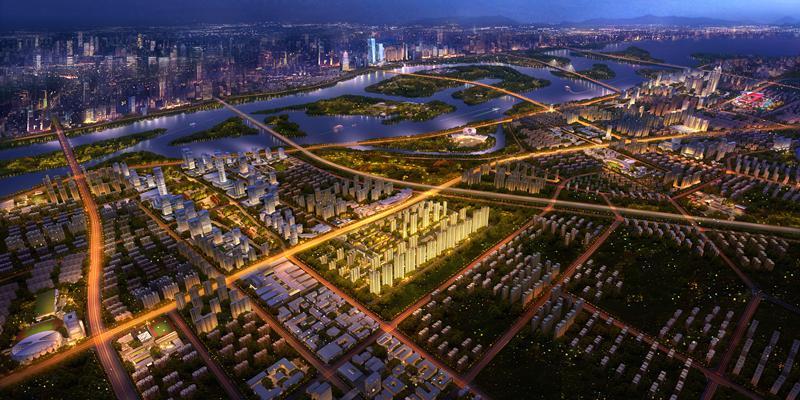 哈尔滨富力城II期效果图图片