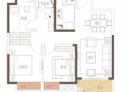 惠州新力城户型图图片