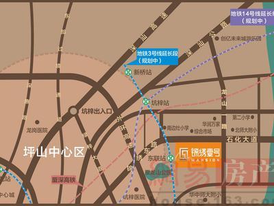 惠州富康·锦绣壹号交通图图片