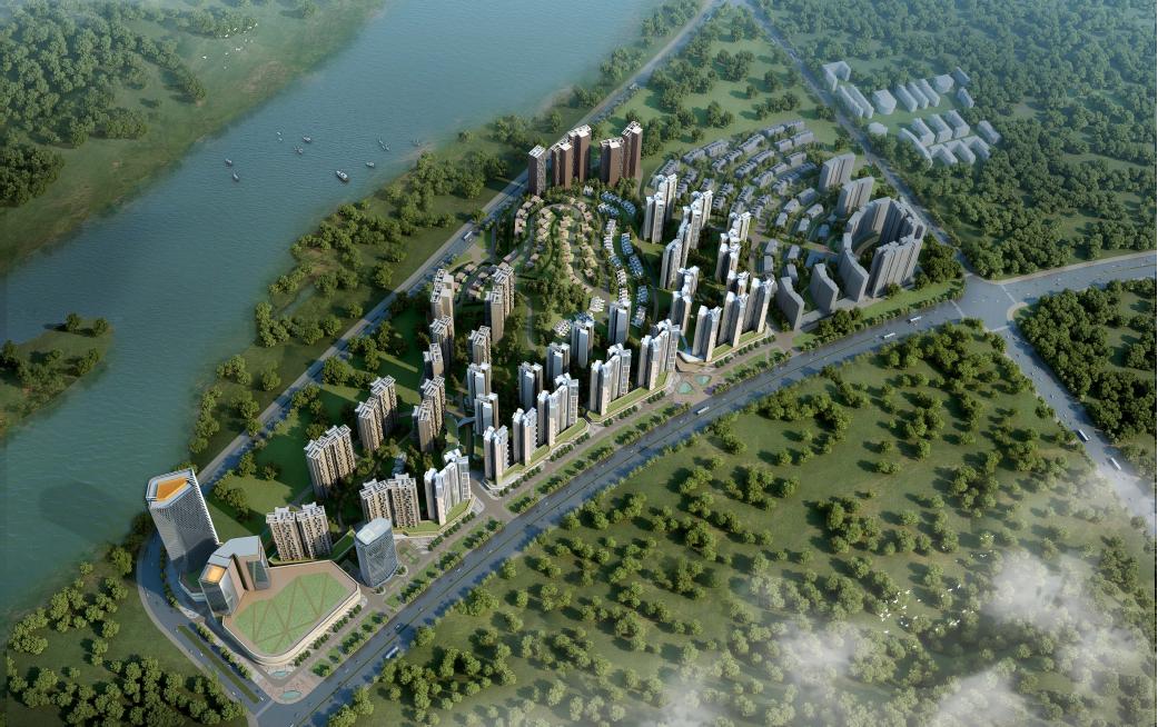 惠州中洲半岛城邦效果图图片
