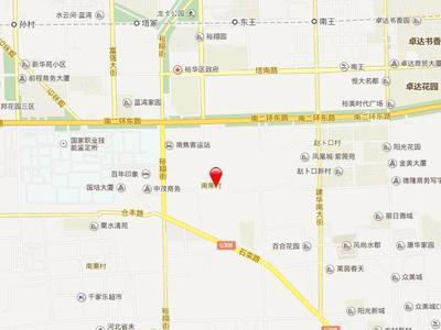 石家庄东南智汇城交通图图片