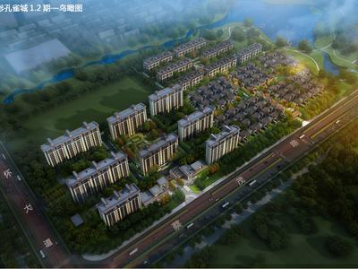 郑州郑北孔雀城效果图图片