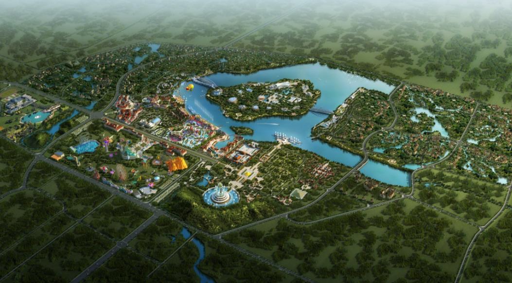 郑州银基国际旅游度假区效果图图片
