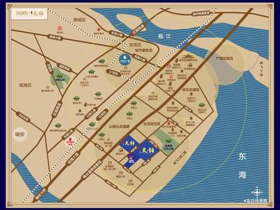 温州红星温州天铂交通图图片