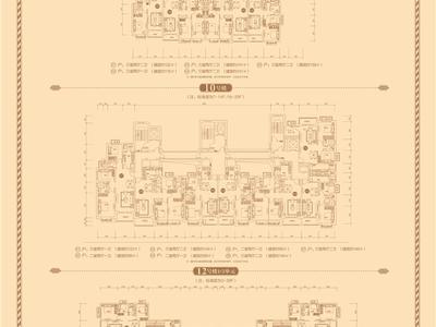 临沂恒大中央广场户型图图片