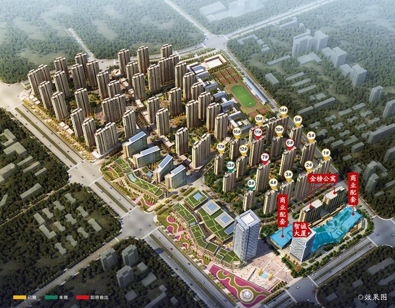 蚌埠智慧锦城效果图图片