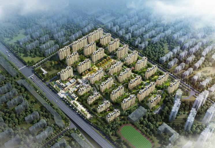 芜湖华强江城九里效果图图片