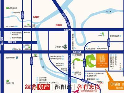 衡阳印湖湾·新城中心交通图图片