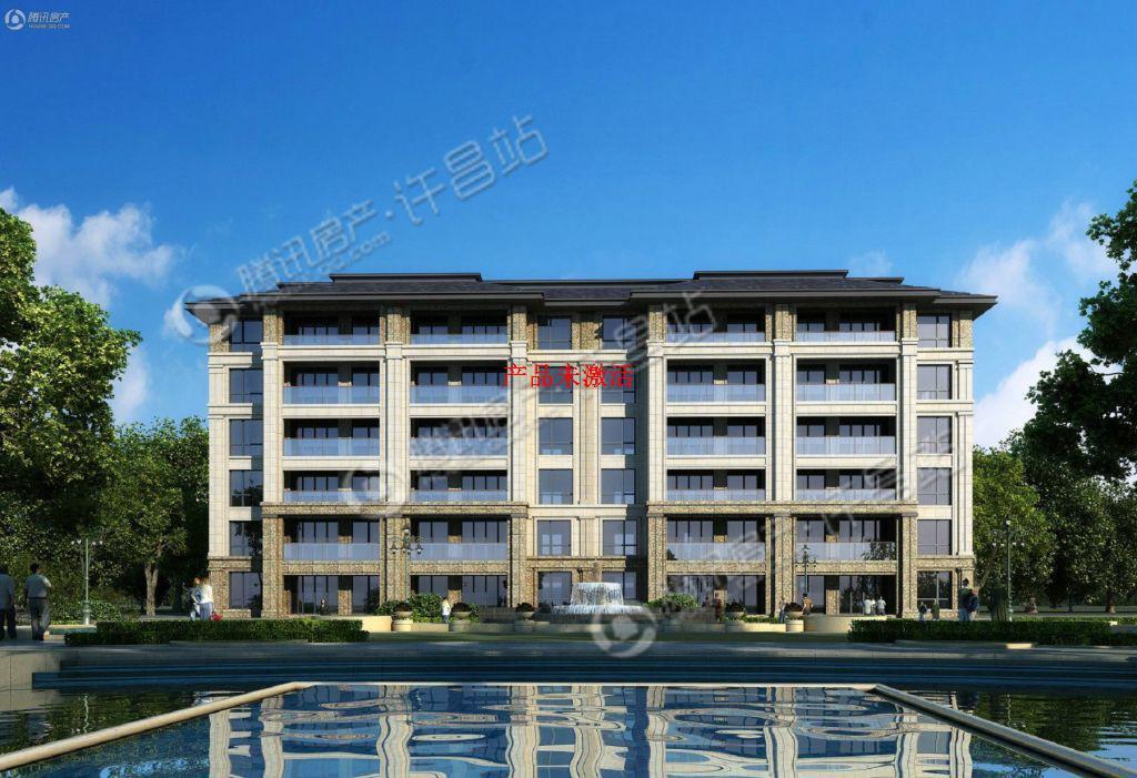 许昌建业世和府实景图图片