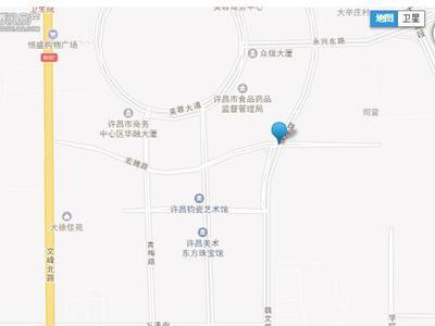 许昌建业世和府交通图图片
