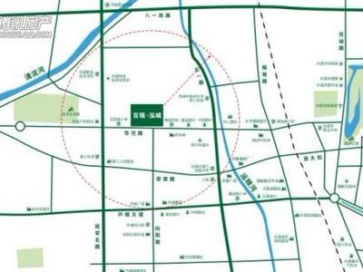 许昌百瑞泓城交通图图片