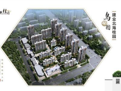 许昌建业北海桂园平面图图片