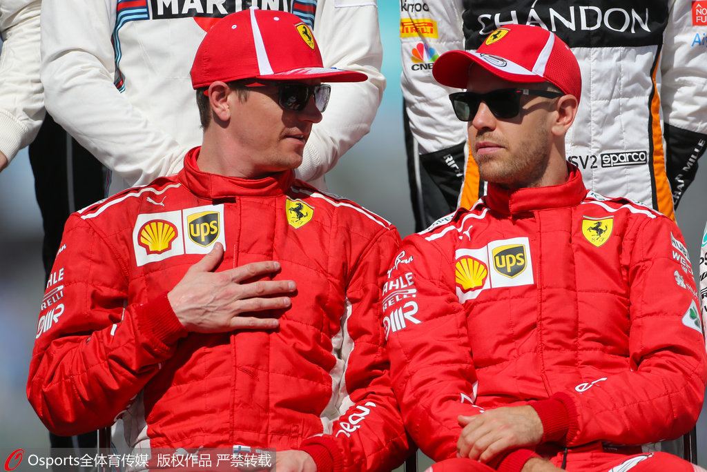 F1车队积分:法拉利40分榜首 梅奔掉链子迈凯轮