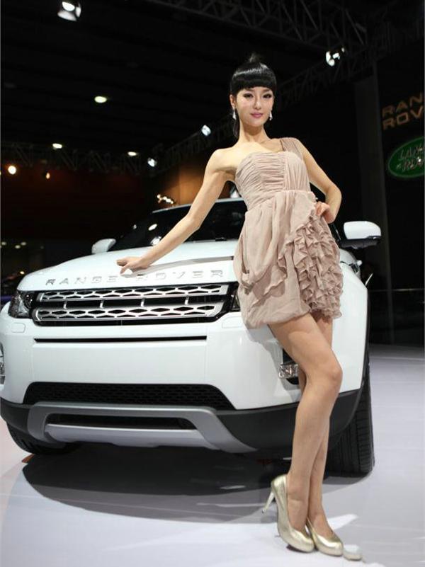 中国车展史上最出位的车模 - 从头再来 - 至卓飞高